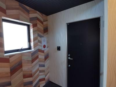 203号室エントランスドアです。 - Hikario新宿 ワークスペース 203の室内の写真