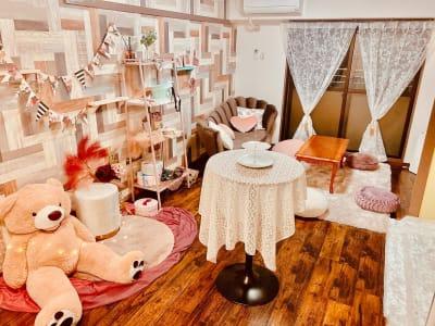 レンタルルーム&スタジオ  🎀料理もできるパーティ部屋🎀の室内の写真