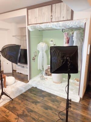 レンタルルーム&スタジオ  🎀料理もできるパーティ部屋🎀の設備の写真