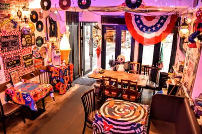 ウツボーノ レンタルカフェの入口の写真