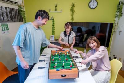 ゲームで息抜き(^^♪ - としょかんのうら・かしわ 柏レンタルスペース・貸し会議室の室内の写真