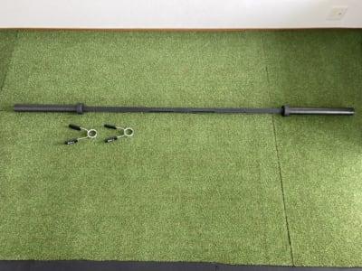 オリンピックシャフト(20kg )  - noma レンタルジム/サロン nomaの設備の写真