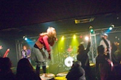大阪ライブハウス39 ホール貸切(〜300名)の室内の写真
