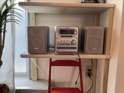【音響完備】CD/MDの利用可能 - GALAXYダンススタジオ イベントスペースの設備の写真