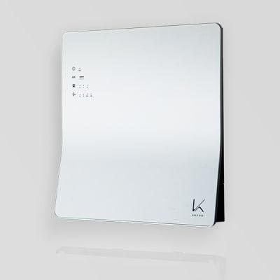光触媒 除菌・脱臭機を全室に導入20 分で新型コロナウィルス(SARS-CoV-2)を99.8%以上不活化する、光触媒搭載の除菌脱臭機を導入しております。 - パーソナルジムMOGAR トレーニングジムの室内の写真