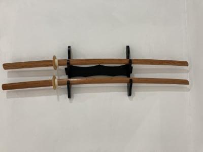 木刀 - setup鍼灸院 トレーニング・ヨガスペースの設備の写真
