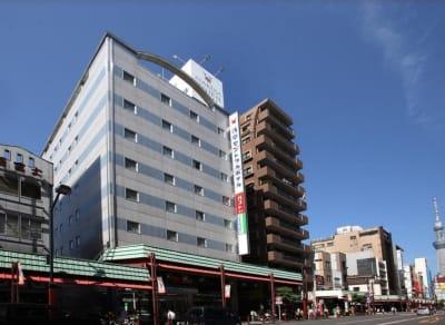 浅草セントラルホテル ワーキングルームアネックス館4の外観の写真