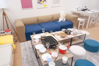 調理器具・食器類も充実しています。👩🍳👨🍳 - FUN HOUR 新宿御苑 パーティールームの室内の写真