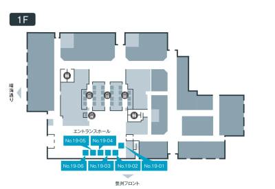 テレキューブ 豊洲フォレシア WEB会議センター 19-06の室内の写真