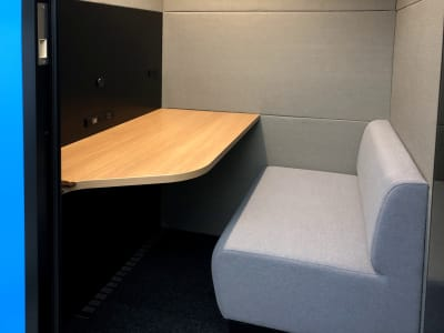 テレキューブ 豊洲フォレシア WEB会議センター 19-04の室内の写真
