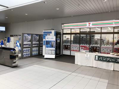 テレキューブ JR西日本 尼崎駅改札外 96-01の室内の写真