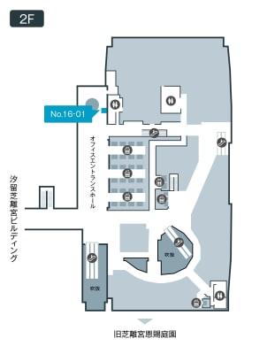 テレキューブ 汐留ビルディング 16-01の室内の写真