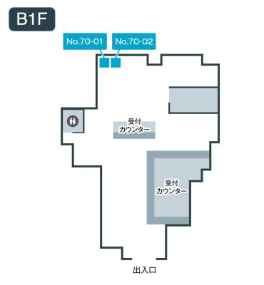 テレキューブ d garden東梅田店(ドコモショップ東梅田店) 70-02の室内の写真