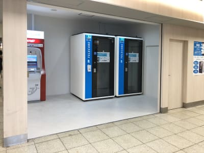 テレキューブ 東武鉄道北千住駅 改札内B1F 南側地下コンコース 22-02の室内の写真
