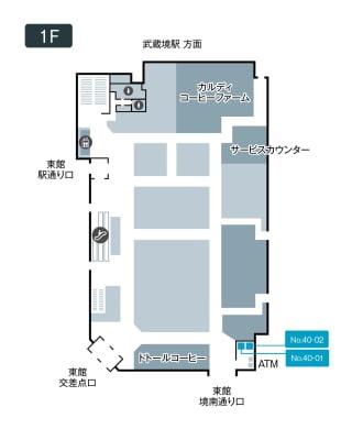 テレキューブ イトーヨーカドー武蔵境店 40-02の室内の写真