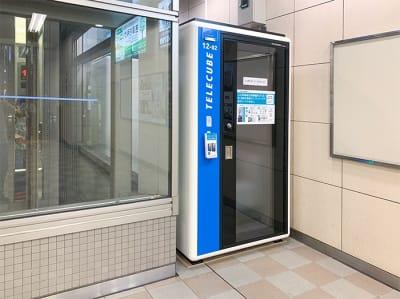 テレキューブ 小田急電鉄 経堂駅改札内 12-01の室内の写真