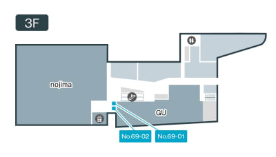 テレキューブ ポンテポルタ千住 69-01の室内の写真