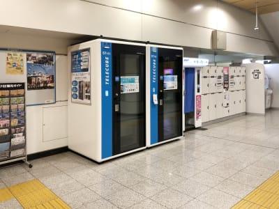 テレキューブ 京成日暮里駅 改札内 51-02の室内の写真