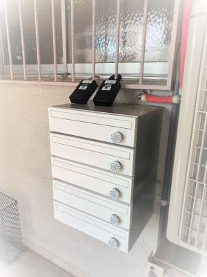 鍵 - レンタルサロン ハコガシ A号室の入口の写真