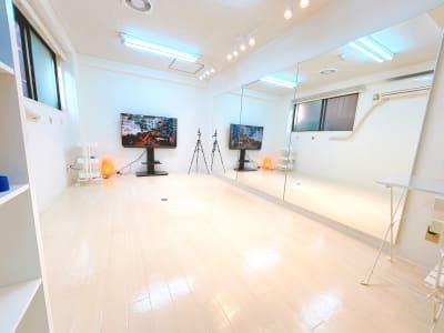 半地下なので、足音気にせず体を動かせます - レンタルスタジオ 吉祥寺OLI  レンタルスタジオ 吉祥寺OLIの室内の写真