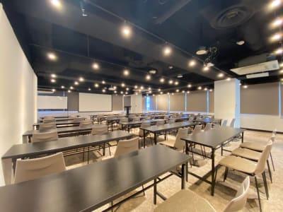 室内 - 渋谷ワールド宇田川ビル タイムシェアリング 9F 会議室の室内の写真
