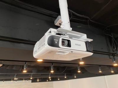 プロジェクター - 渋谷ワールド宇田川ビル タイムシェアリング 9F 会議室の設備の写真