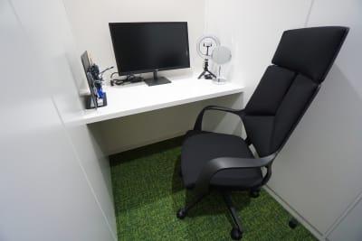 小田急レンタルスペース 個室Fの室内の写真