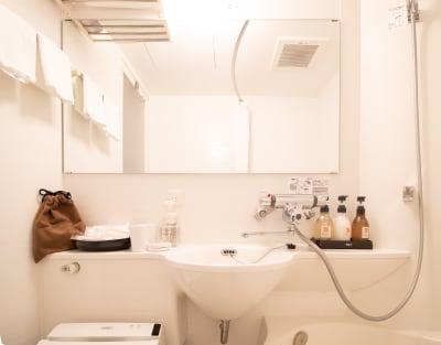 シャワールーム - カモンホテルなんば テレワークスペース(2~3階)の設備の写真