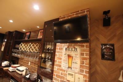 テレビもございます。 - レンタルスペース「UNO」の室内の写真