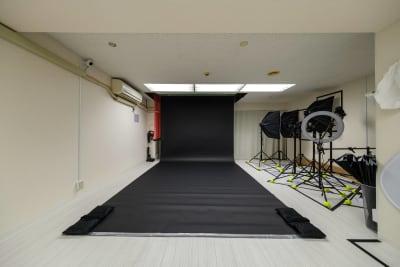 バックペーパー【ブラック】※無料 - Studio Bis フォトスタジオの設備の写真
