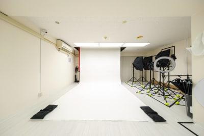 バックペーパー【ホワイト】※無料 - Studio Bis フォトスタジオの設備の写真