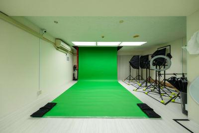 バックペーパー【クロマキーグリーン】※無料 - Studio Bis フォトスタジオの設備の写真