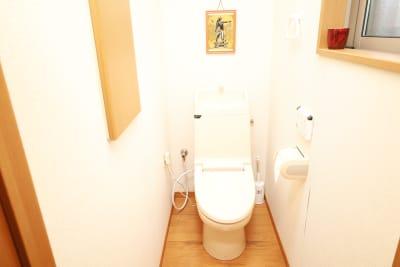 水洗トイレ・ウォシュレット付。 - レンタルスタジオアヌビス レンタルの室内の写真