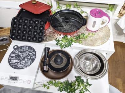 調理器具、豊富に揃ってます✨ - レンタルスペース あみん家 レンタルスペースの室内の写真
