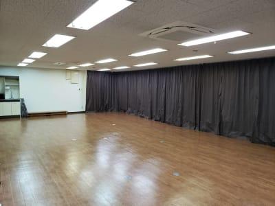 防音カーテンです☆ - レンタルスタジオ BigTree 岸和田店 の室内の写真