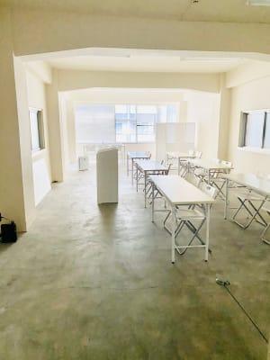レイアウトは自由に変更可能 - 日本橋base 多目的スペースの室内の写真