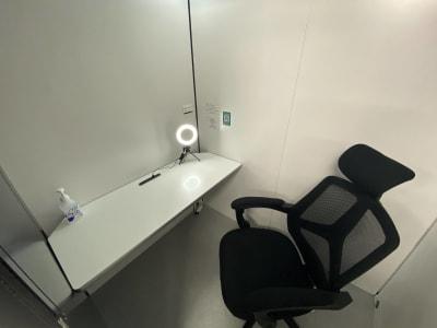 個室内はゆとりのある広さです。 - RemoteBOX 神保町店 No.2の室内の写真