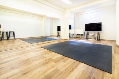オプションで貸し出しております。 - StudioIrodori赤羽橋 スタジオIrodori赤羽橋の室内の写真