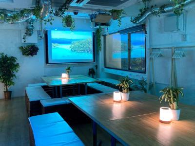 お客様のニーズに合わせて会をカスタマイズ出来ますので、お迷いの際は03-6416-9192まで気軽にお問合せ下さい。 - 渋谷ガーデンルーム3F 渋谷ガーデンルーム3Fの室内の写真