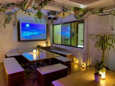 フレキシブルな撮影スタジオ ※独立コンセント複数あり そのまま打ち上げ会場としてBBQも出来ます☆ プライベートな貸切空間として ロケ・キックオフ ミーティング・写真・動画撮影にオススメです!  - 渋谷ガーデンルーム3F 渋谷ガーデンルーム3Fの室内の写真