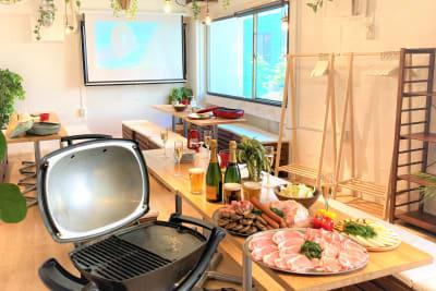 渋谷でグランピングBBQ! - 渋谷ガーデンルーム3F 渋谷ガーデンルーム3Fの室内の写真