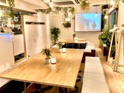 飲み会に誕生会にホームパーティー! 様々なシーンで活用できる空間です! - 渋谷ガーデンルーム3F 渋谷ガーデンルーム3Fの室内の写真