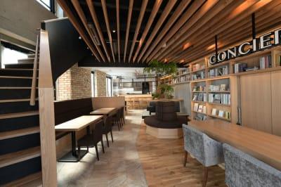 [施設入口] 会議室は左手の階段から - NOBORITO ARCH  レンタル会議室の室内の写真