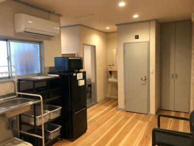 共用トイレ - レンタルサロン ハコガシ C号室の設備の写真