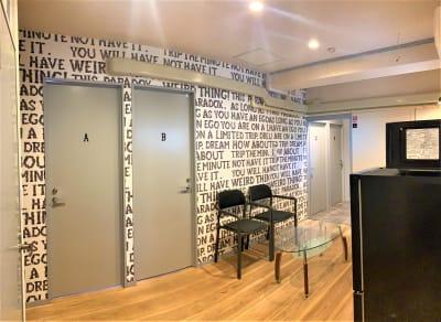 リビング - レンタルサロン ハコガシ C号室の室内の写真
