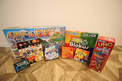 ボードゲームも多数そろえています★ - カルペディエム池袋 撮影・キッチン利用に!広さ30㎡の設備の写真