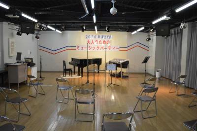ヤマハウイング北勢堂ビル内 多目的スペース ホールの設備の写真