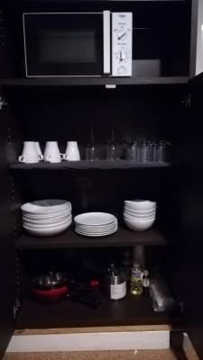 コートホステル カラオケルームの設備の写真