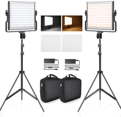ビデオライト大、4種類、大型リングライト有り✨ - 🎀リリー京橋駅前🎀駅徒歩3分 撮影特化/大型📺/24H/会議の設備の写真