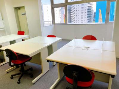 面談形式 - レンタルスペースupdate新町 レンタルスペースupdateの室内の写真